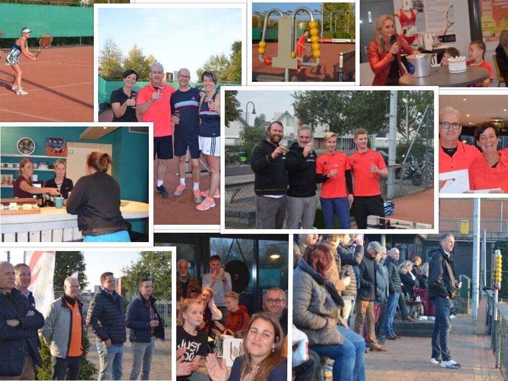 fotocollage van het open toernooi TV Dierdon
